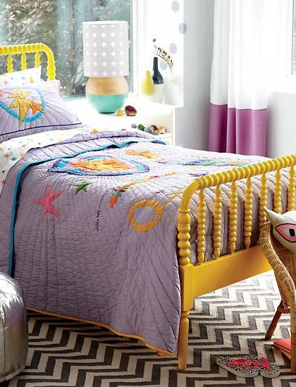 jenny-lind-bed-yellow
