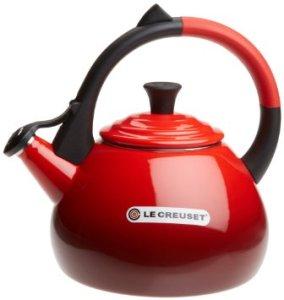 Le Creuset Enameled Steel 1.6 Quart Oolong Tea Kettle