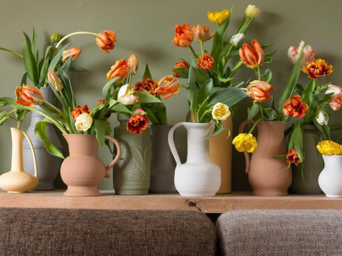 20 Ideas to Decorate the House with Tulips
