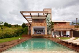 Modern Lake House Sao Paulo Brazil