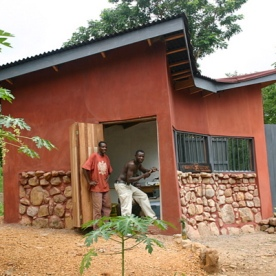 Simple Modern Home in Ghana-