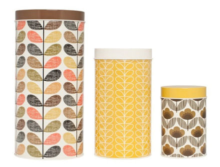 kitchen canisters orla kiely