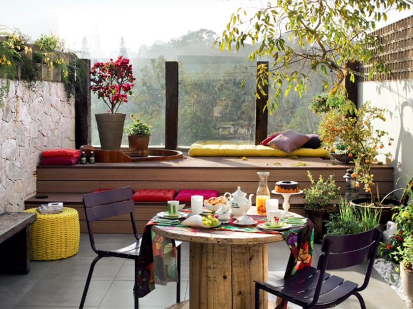 Small Balcony Decor Idea Niche Nook