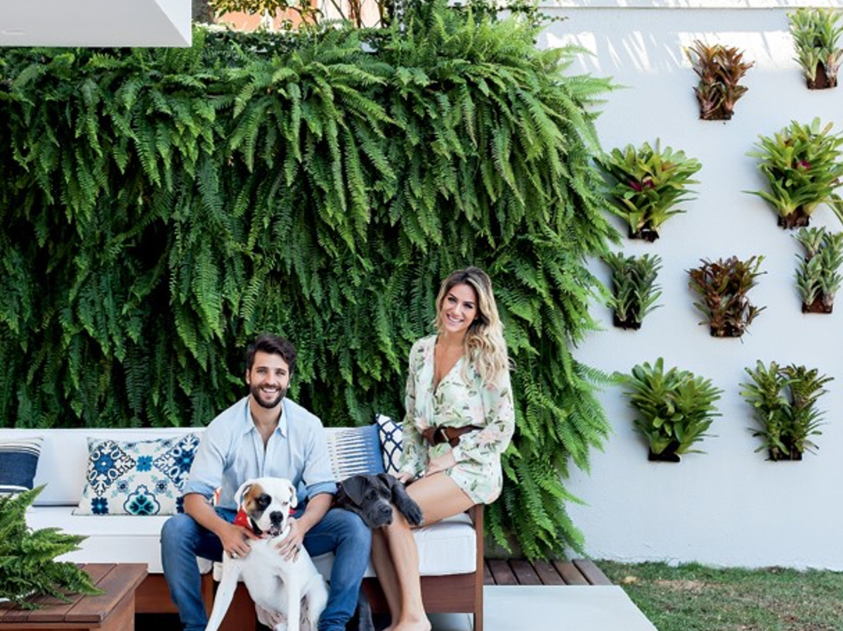 Bruno Galiasso and Giovanna Ewbank Sweet Home.